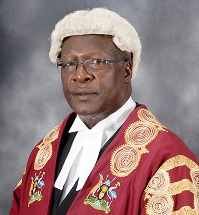 Justice Bart Katureebe Biography